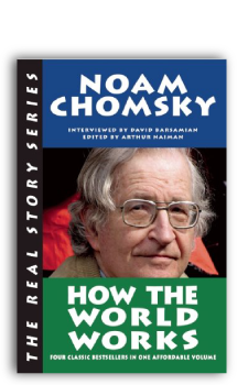 Noam Chomsky cover How the World Works for Book Publishing Consultant Peter Beren