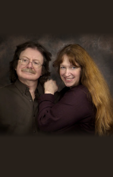 Brian and Wendy Froud portrait for Book Publishing Consultant Peter Beren
