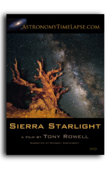 Sierra Starlight cover for Book Publishing Consultant Peter Beren