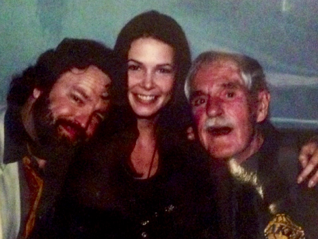 LInda Kelly and Tim Leary and John Perry Barlow