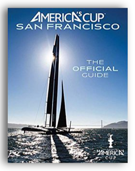 Cover America's Cup San Francisco book Peter Beren contributed to.